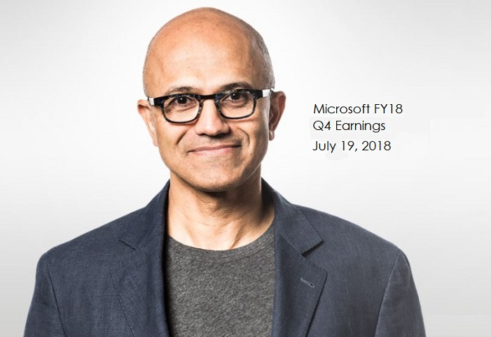 1 X cover Microsoft's CEO on FY18 Q4
