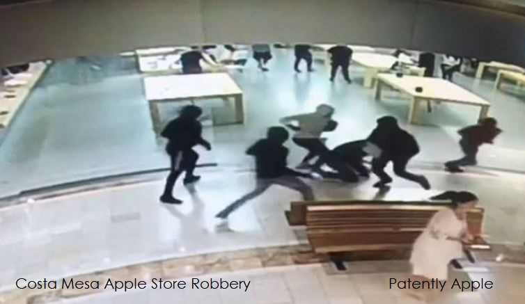 1 X - cover Apple STore robbery