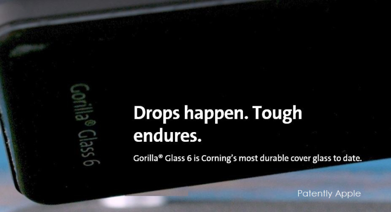 1 X cover Corning introduces Gorilla Glass 6