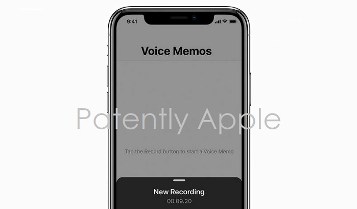 1 Cover - Voice Memos icon TM Filing in Hong Kong