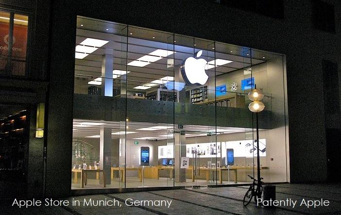 Jan 3 2018 - Apple store in Munich
