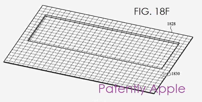 4 x apple virtual keyboard patent fig. 18 f  Patently Apple report