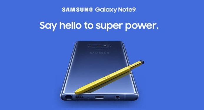 1 X Cover Samsung Note 9 ad - questionable