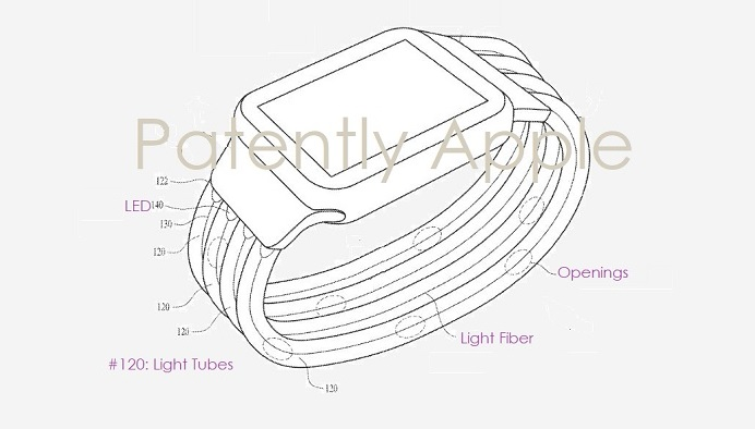 1 Cover Glowing LED Apple Watch Band