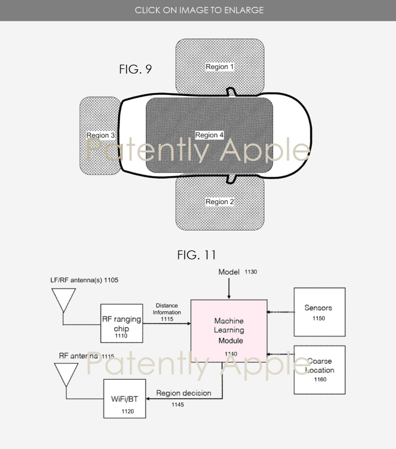 4 apple car patent  figs 9 & 11