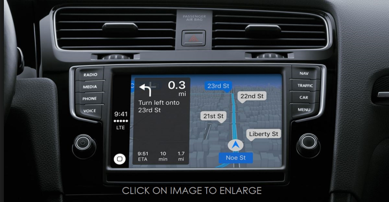 1 C cover carplay maps turn-by-turn navigation in Nissan Vechicle