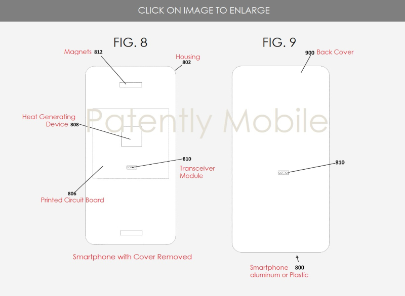 2 Msft patent  thermal dock  FIGS. 8 & 9  Patently Mobile report