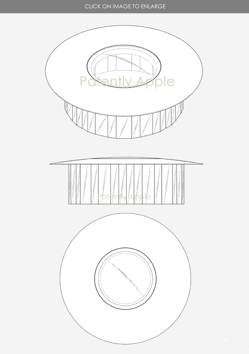 2 Steve Jobs Theater building design patent figures