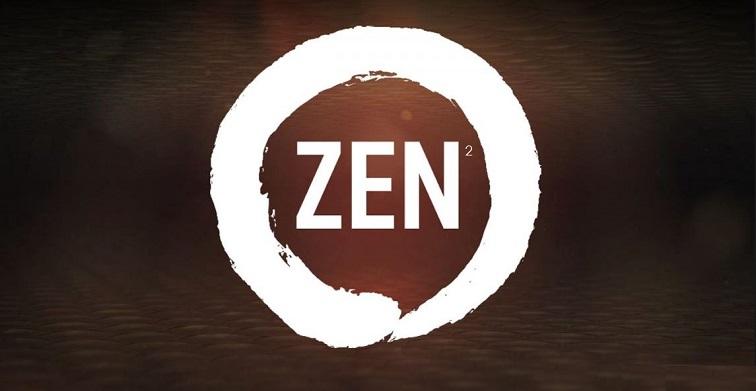 1 X cover Zen 2 AMD processor  7nm