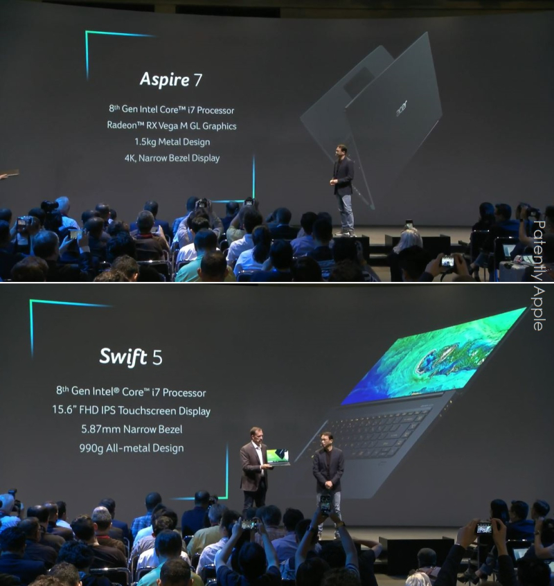 4 X Aspire 7  Swift 5