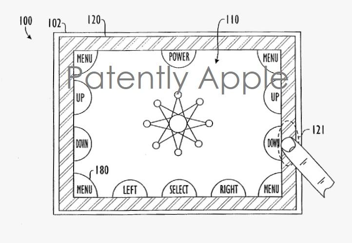 3 X - patent fig 4 smart bezels  apple