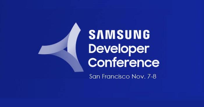 1 X samsung developer conference
