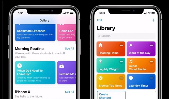 1 x cover siri shortcuts not coming to iphone 6