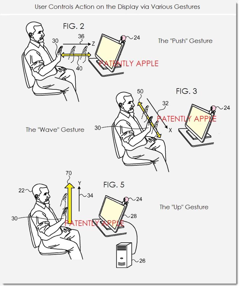 4 apple in-air gesture controls