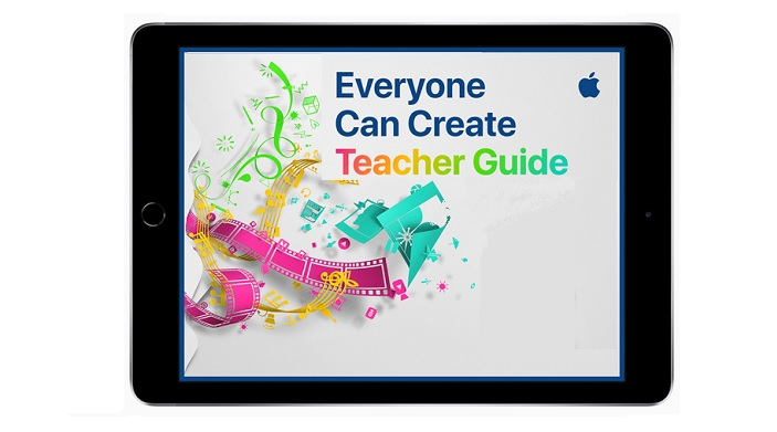 1 cover Everyone can create iPad education