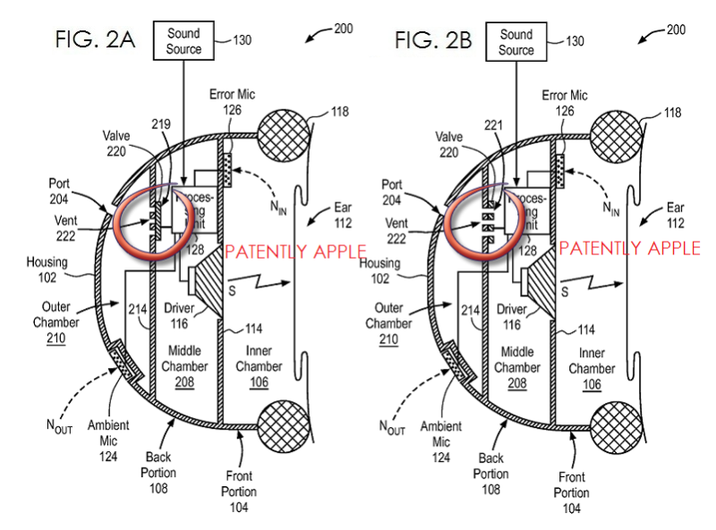 3 Apple over ear headphone patent figs noise cancellation
