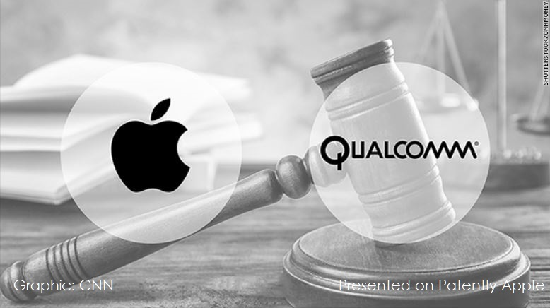 photo image The Apple-Qualcomm Legal Battle will be Ratcheted Up in H2 as Qualcomm Prays for an Injunction on the iPhone