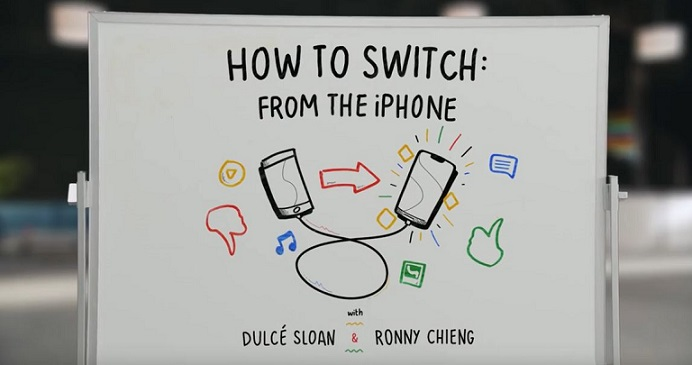 1 X cover switch to android