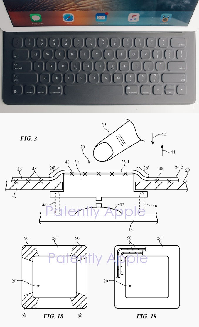 2 smart keyboard  ipad pro LASER PROCESSING OF FABRIC