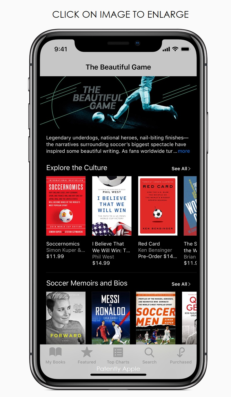 7 - iPhone-X-World-Cup-iBooks-screen