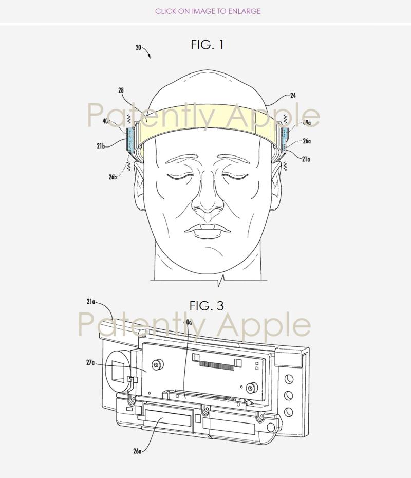 2 Apple head band device