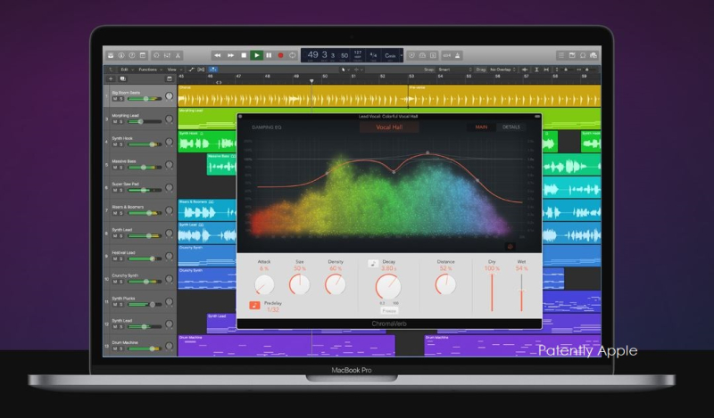 1 X cover Chromaverb  apple logic pro x