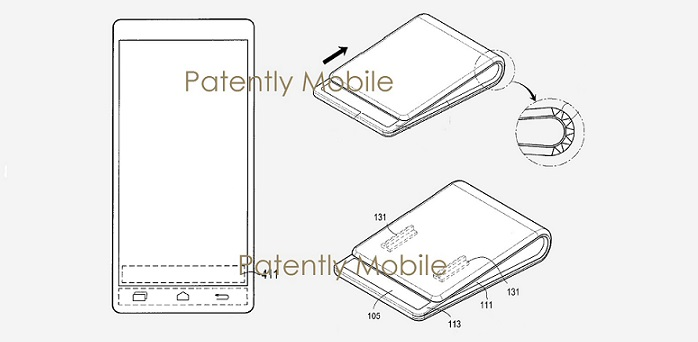 1 X COVER SAMSUNG FOLDING PHONE PATENT FIG