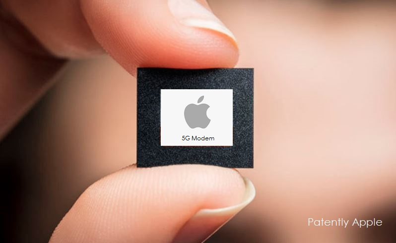 1 X cover Apple 5G modem Chip  Apple working towards