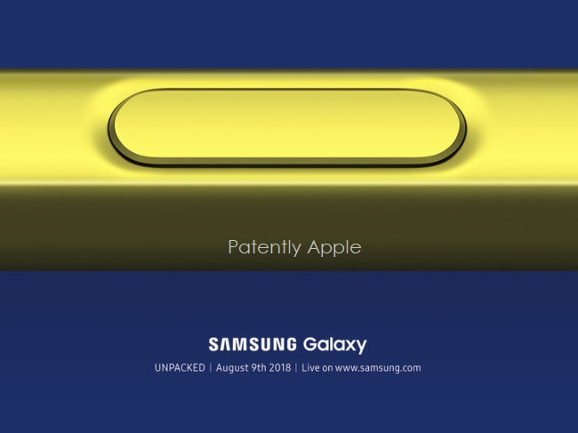 2 x samsung note event aug 9  2018