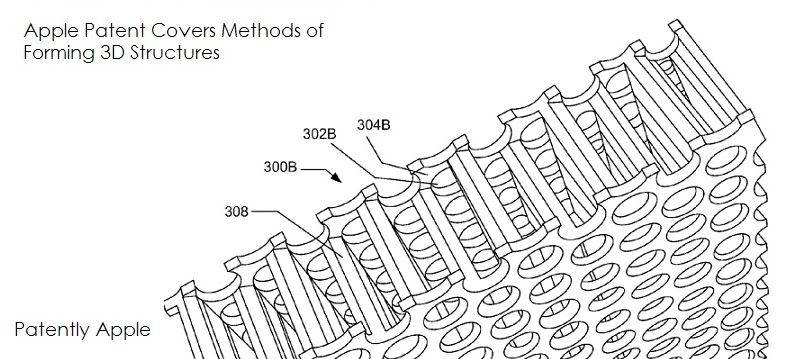 3 3D structures for devices win patent for apple