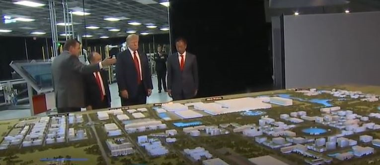 2 looking at Foxconn's future plant and plans
