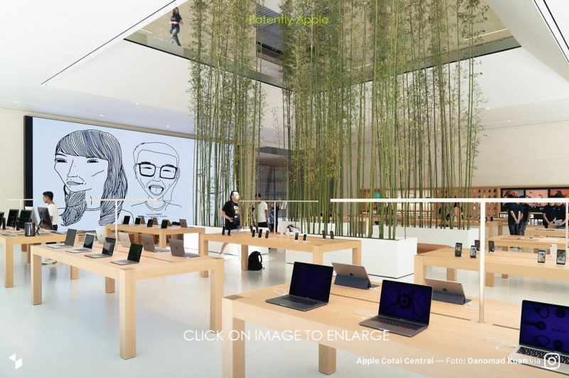 5 X   entrance of Apple Store in Macau