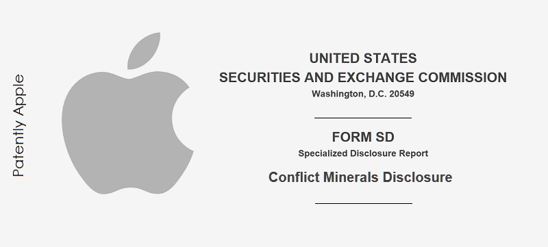 1 X COVER  SEC Form SD conflict Materials  Apple filing feb 2019