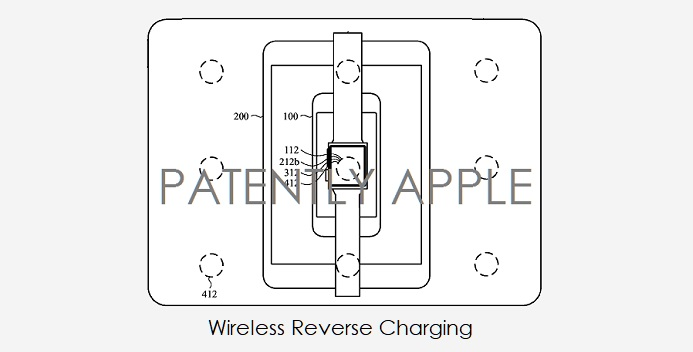1 X cover wireless reverse charging