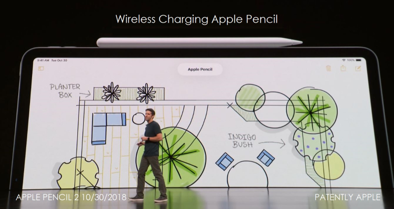 1 X apple pencil wireless charging
