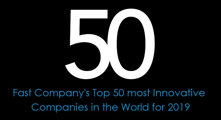 1 Cover Fast Company's top 50 list of most innovative companies in the world  2019