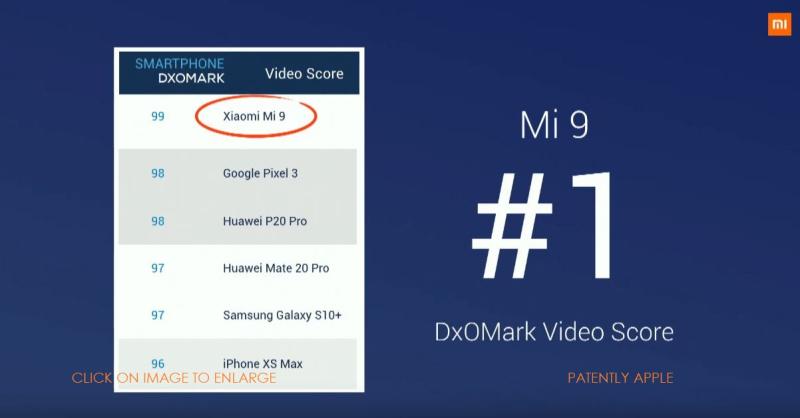 5 XFINAL -  DxOMark Mobile Score