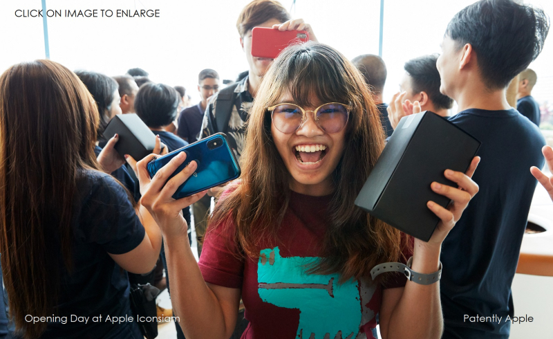 1 X Cover - Apple-Iconsiam-opens-in-Bangkok-woman-with-product