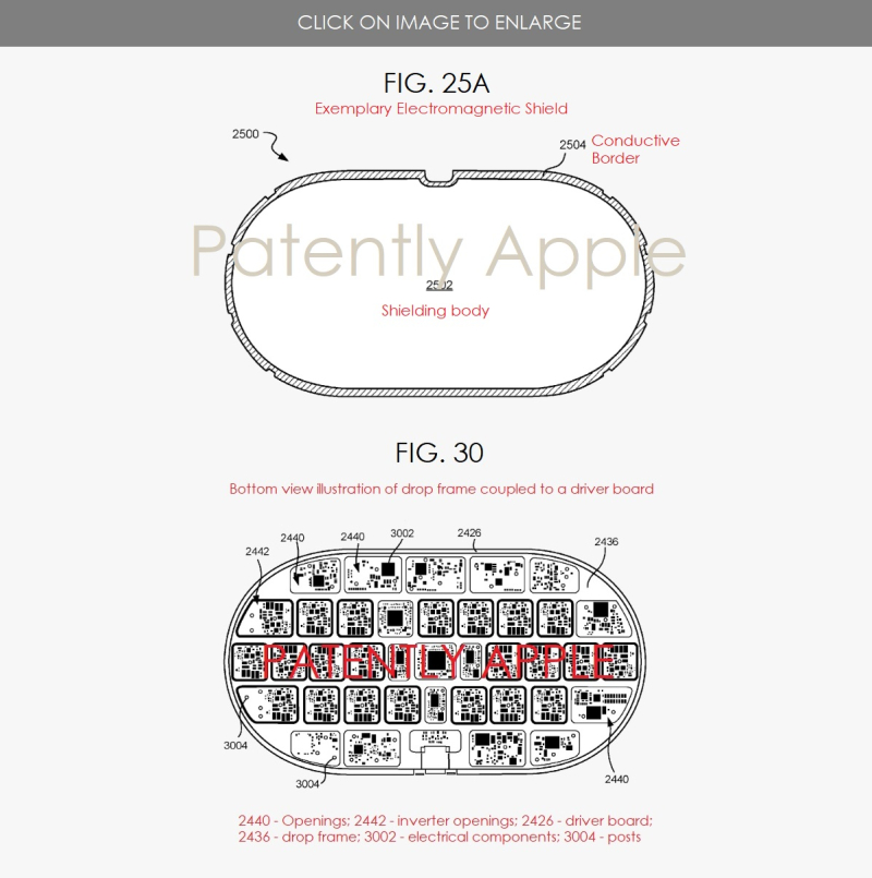 4  FIGS. 25A & 30 APPLE AIRPOWER PATENT FIGURES