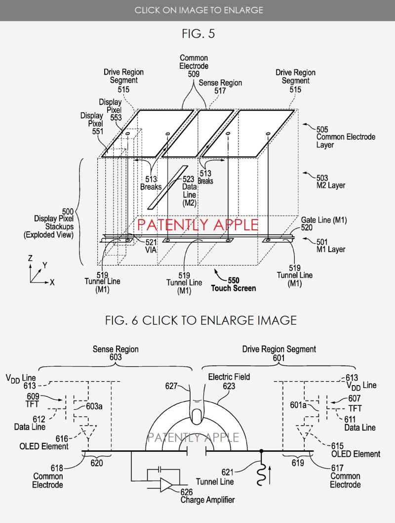 4 XX2  in-cell touch display patent