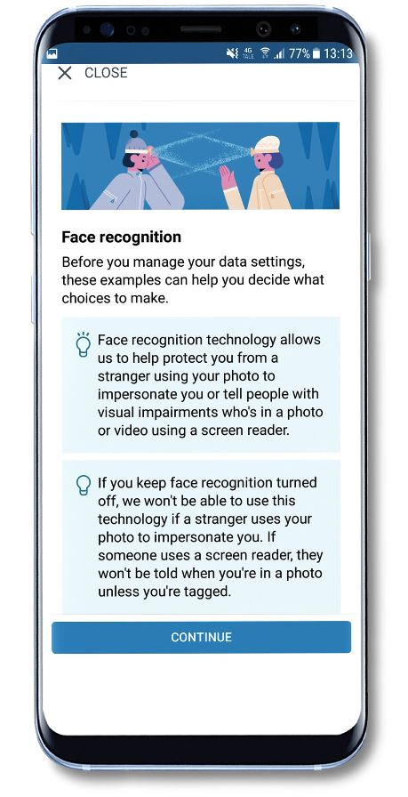 4 FACEBOOK PUSHING FACE ID AND MORE
