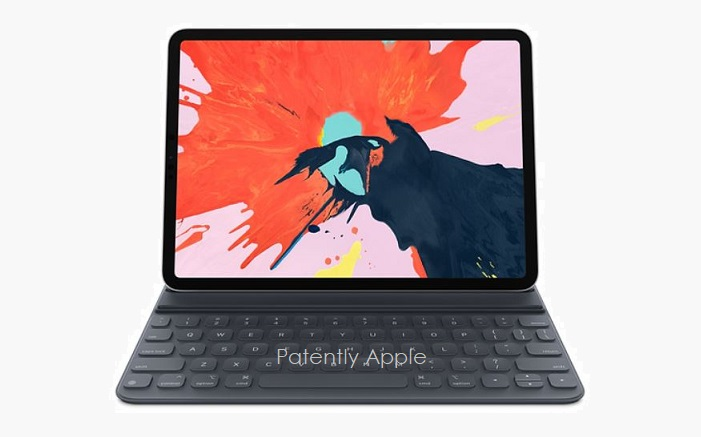 1 X COVER iPad Pro Smart Keyboard - future trackpad-like functionality - Nov 15 2018 Patently Apple report