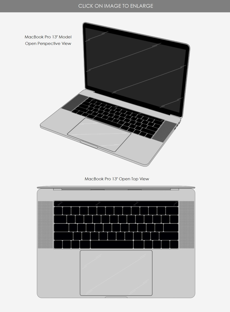 5 MacBook Pro design patent hong kong 2018 1700223.1M004