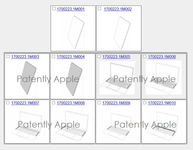 7 Apple granted 10 macbook pro design patents in Hong Kong