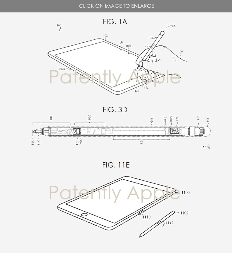 2 Apple Pencil Patent july 2018