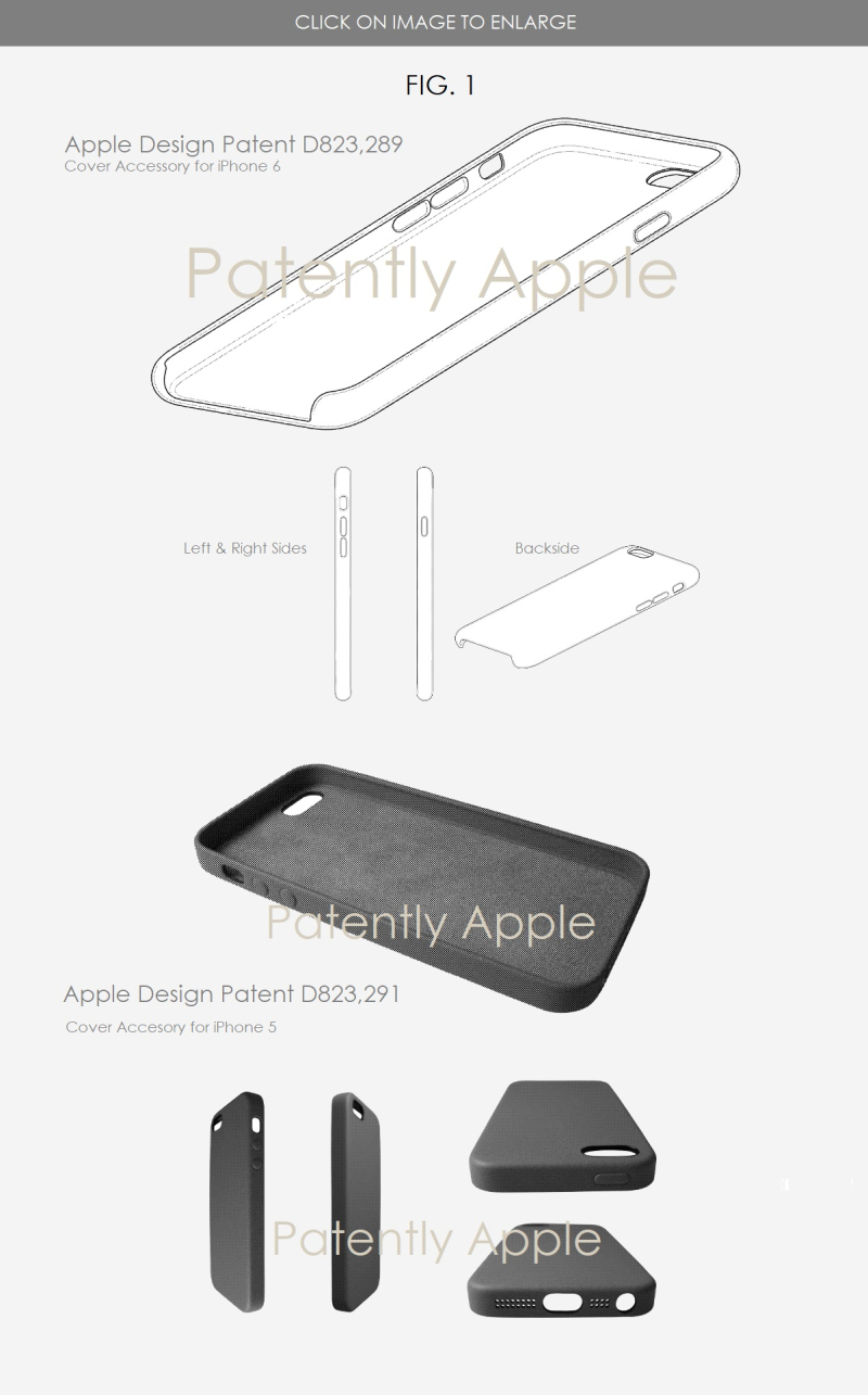 4 iphone cover design patents