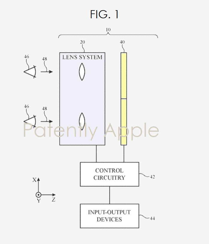 2 Mixed Reality headset  Apple patent fig 1  Nov 2018 - Patently Apple report