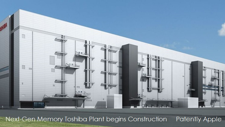 1 X cover breaking ground on new Toshiba plant