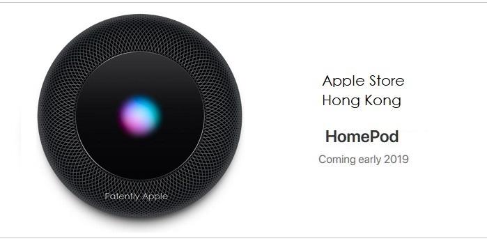 1 X2 - HomePod on Apple Hong Kong site Dec 6  2018