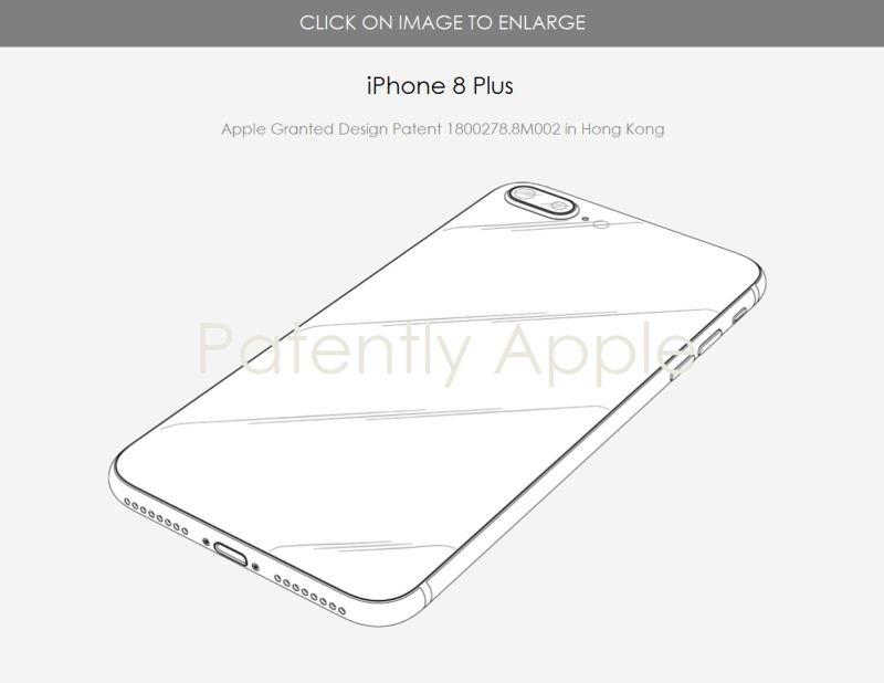 2 iPhone 8 Plus - backside - granted patent 1800278.8M002 Hong Kong Aug 3  2018